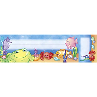 NORTH STAR TEACHER RESOURCE Under The Sea Seat & Cubby Sign: Toys & Games