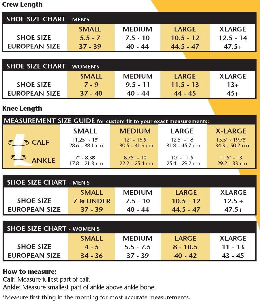 Venosan Diabetic Care Knee High Socks -8-15 mmHg White Medium DB79001
