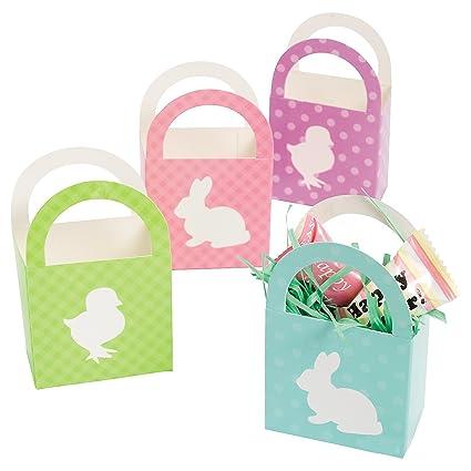 Amazoncom Two Dozen Mini Easter Basketsparty Suppliesgift Boxes