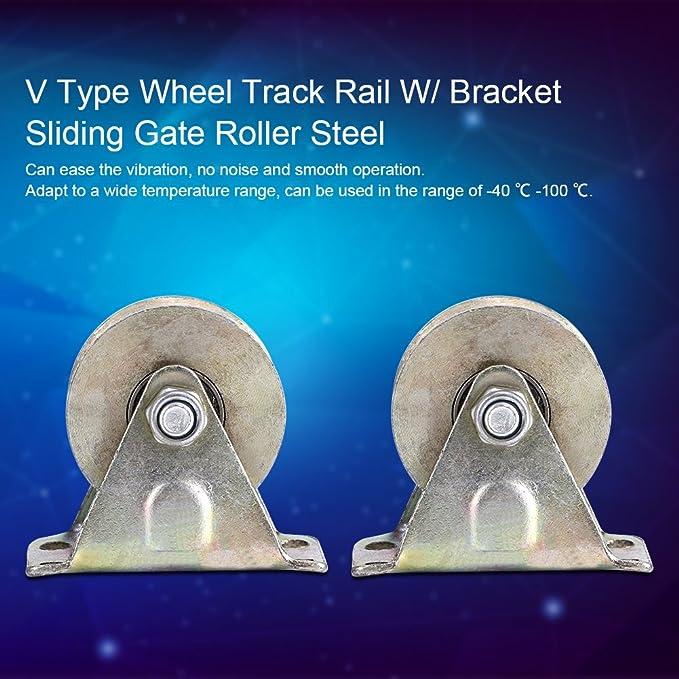 Amazon.com - V Groove Wheel for Sliding Gate,Acoggedor 2 inch ...
