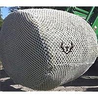 6x6 Round Bale Slow Feed Hay Net Black