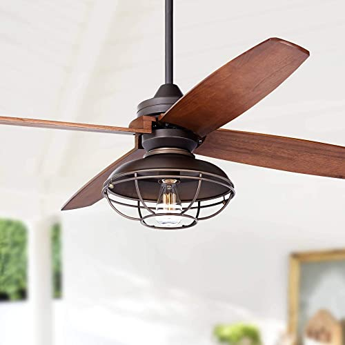 52 Casa Vieja Impel Franklin Park Bronze Ceiling Fan – Casa Vieja
