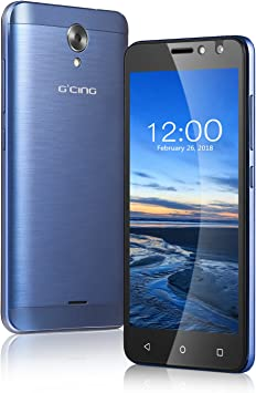 Smartphone 4G Libre G One 5.0 Inch, Android 7.0, 1GB RAM + 8GB ROM, Cámara 2MP + 5MP, 2200 mAh, Dual Sim (Azul): Amazon.es: Electrónica