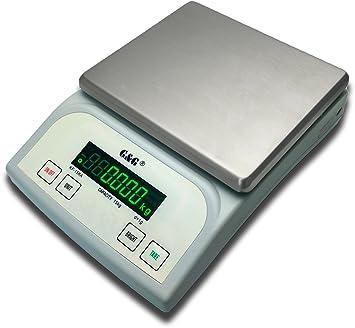 G&G - báscula digital de precisión KF15KA|B,