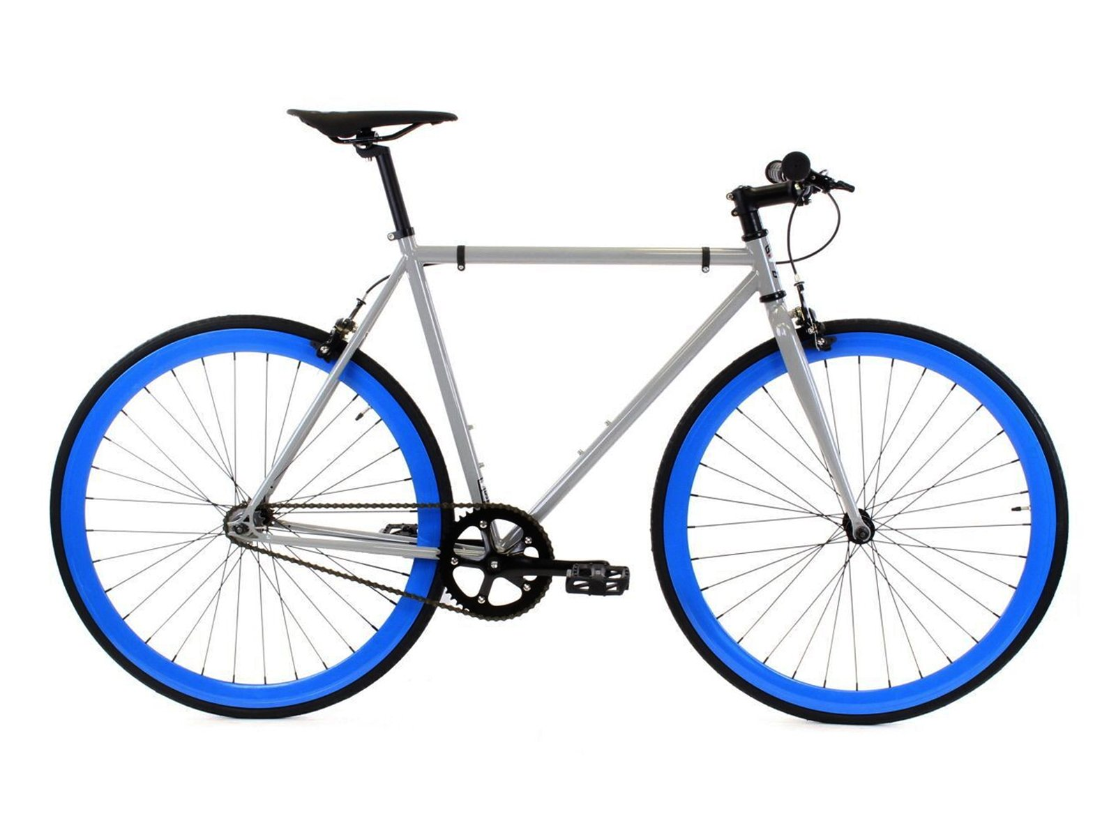 Golden Cycles Fixed Gear Single Speed Fixie Road Bike (Hammer, 48)