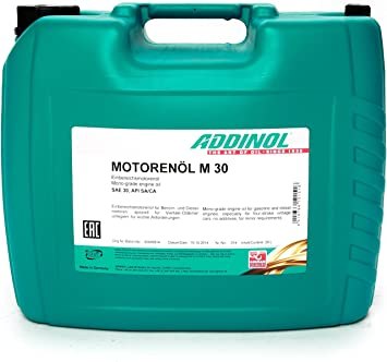 Motorrenöl Addinol SAE 30 für Oldtimermotorräder