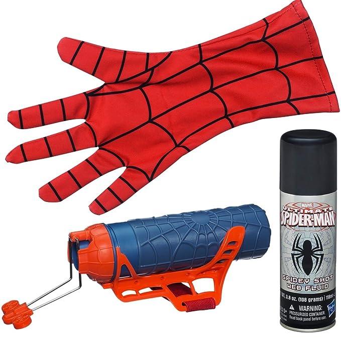 Marvel Spiderman - Mega lanza telarañas y guante (Hasbro A2945E24): Amazon.es: Juguetes y juegos