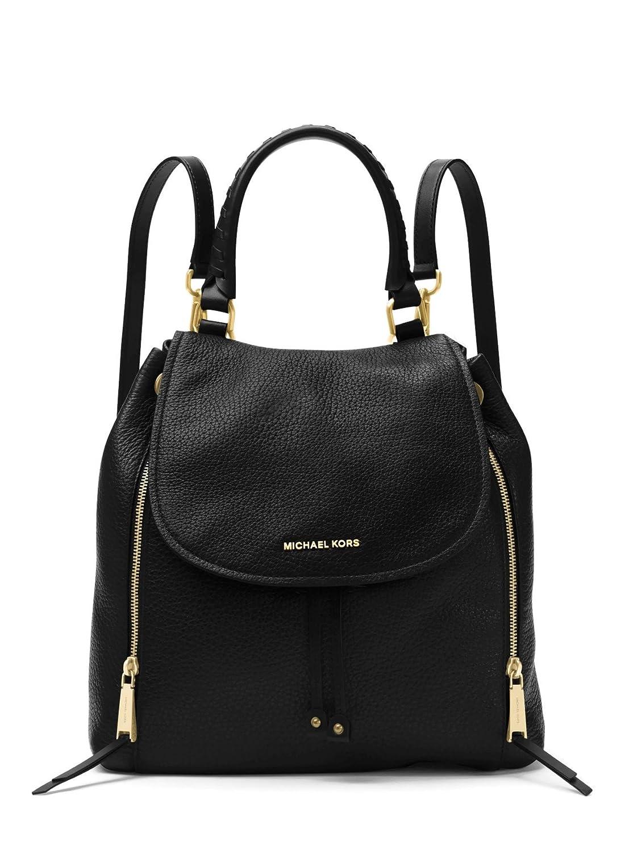 ae2b87ed3e Amazon.com: Michael Kors Viv Ladies Large Black Leather Backpack  30F6GVBB3L001: Shoes