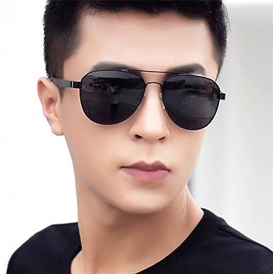 c9f6d06cfd7 HCIUUI 2018 new men s sunglasses men s polarized lenses tide driving glasses  personality sunglasses men s driver driving