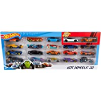 Hot Wheels Pack de 20 vehiculos, coches