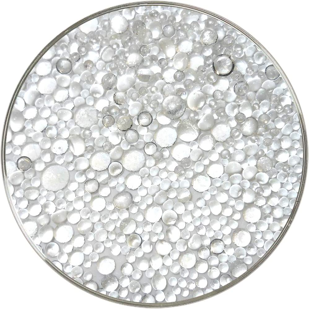 90COE Made from Bullseye Glass Crystal Clear Transparent Frit Balls 1oz