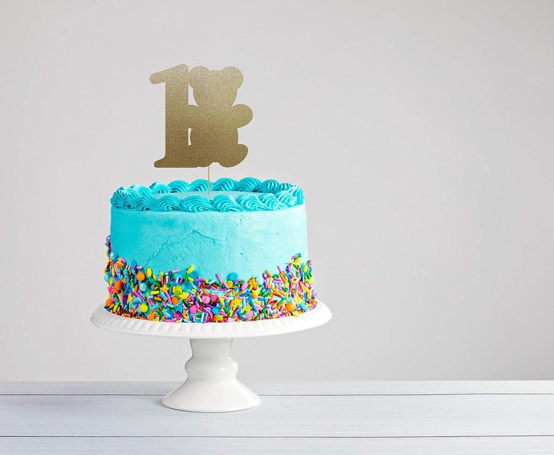 Amazon Teddy Bear Cake Topper