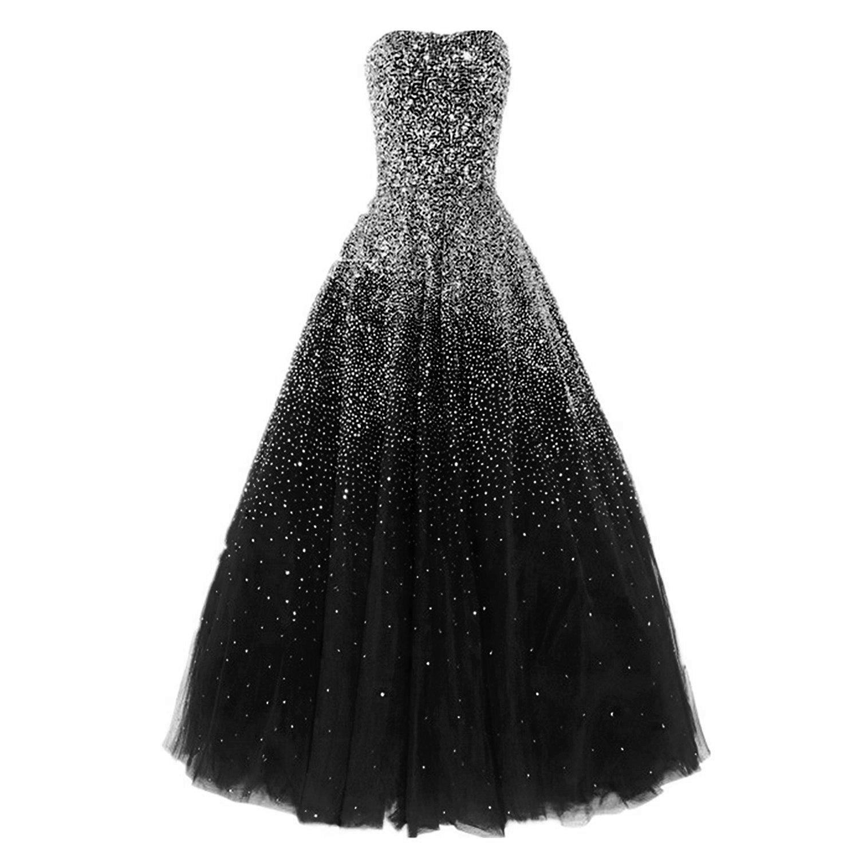 Amazon.com: Dressesonline Women\'s Luxury Prom Dresses Long with ...
