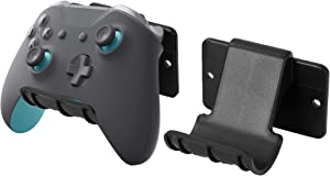 VIVO Universal Video Game Controller Wall Mount Holders, Compatible with Playstation, Xbox, NVIDIA, Nintendo Switch Controllers, and More (2 Pack) (MOUNT-GM01C)