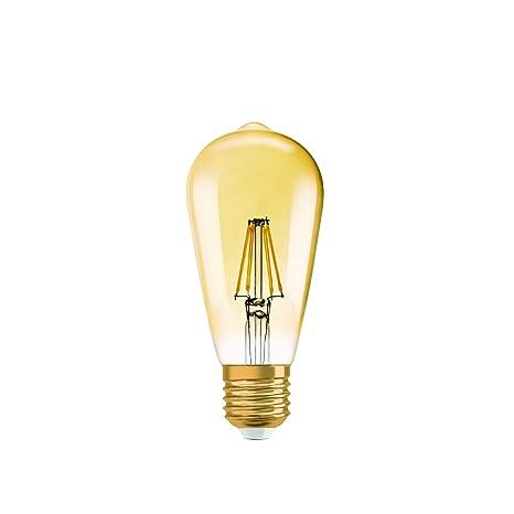 Lámpara Osram LED Vintage Edition 1906, en forma de Edison con casquillo E27, no