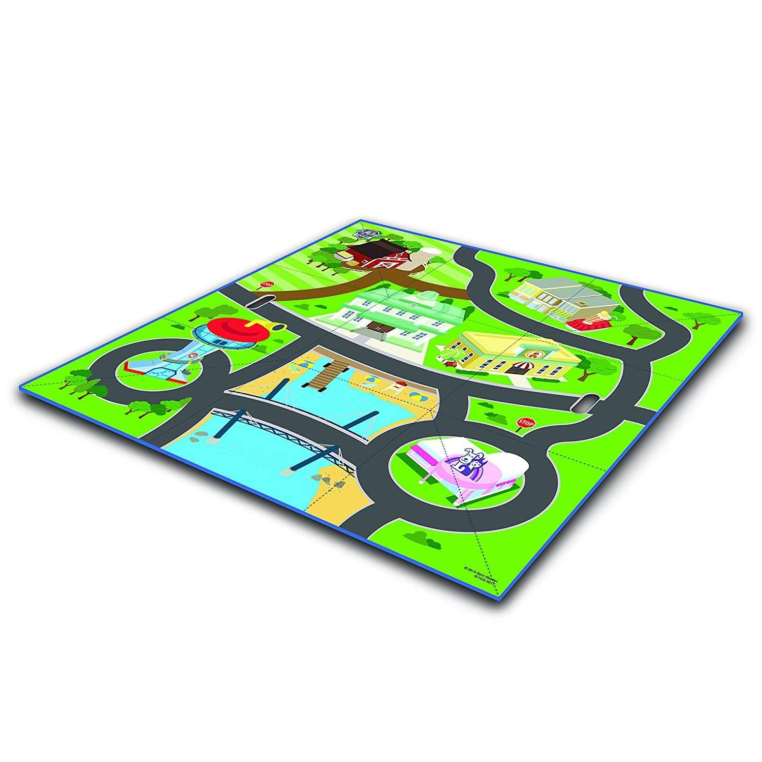 Paw Patrol Tidy Town Storage Box with Mat by Paw Patrol