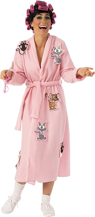 60s Costumes: Hippie, Go Go Dancer, Flower Child, Mod Style Crazy Cat Lady Costume for Adults $27.01 AT vintagedancer.com