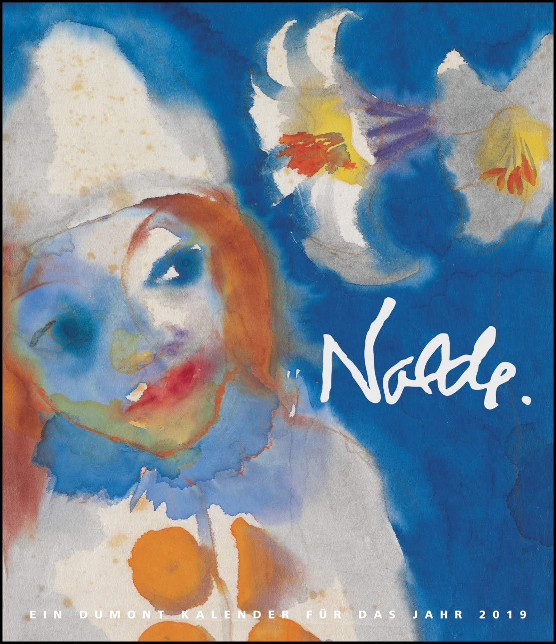 Emil Nolde 2019 – Kunstkalender – Wandkalender im Format 34,5 x 40 cm – Spiralbindung