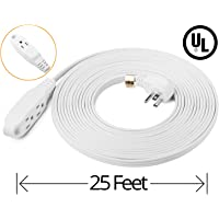 ClearMax 25 Feet 3 Outlet Extension Cord 16AWG