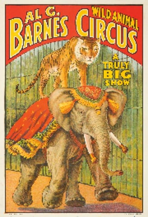 Amazon.com: Al G Barnes Circus Vintage Poster USA (24x36 Giclee ...