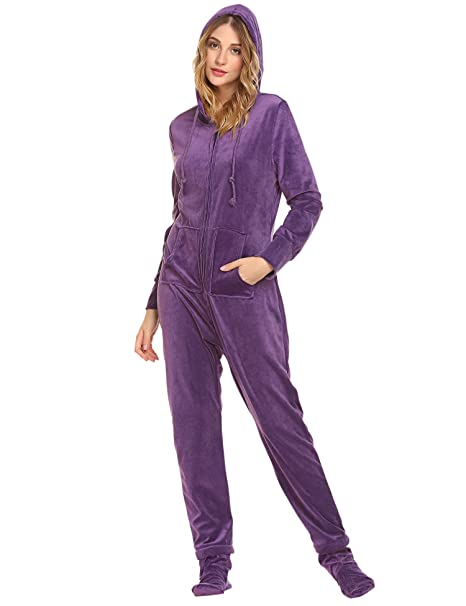 Unibelle - Pijama - Manga Larga - para Mujer Typ1-Helles Lila S