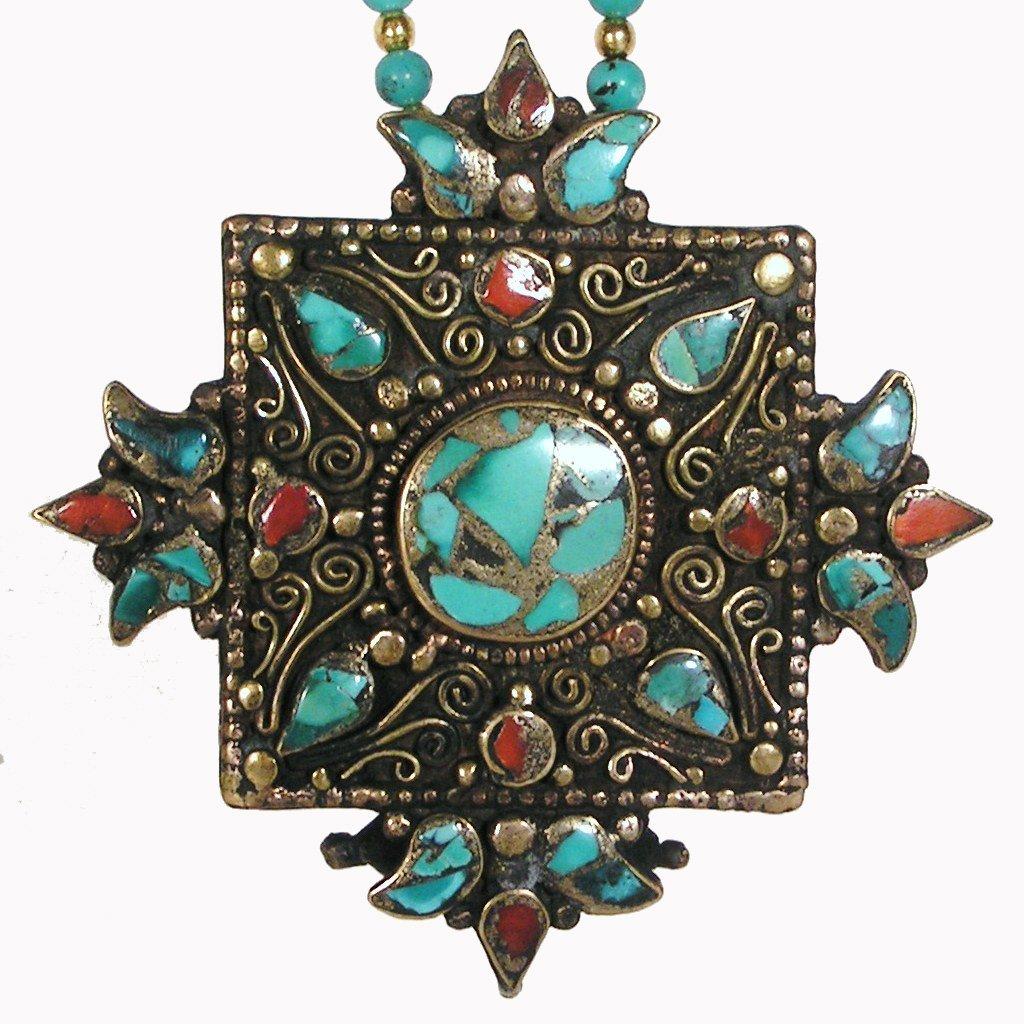 Remembering Tibetan Refugees Amulet by Dakini Designs (Image #3)