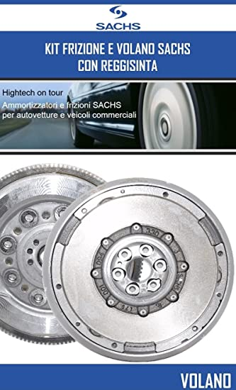 Kit Embrague + Volante Sachs Peugeot 207 (Wa _, inodoro _) 1.6 HDI 66 KW 90 CV: Amazon.es: Coche y moto
