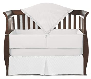 5822b51bb78e9 Amazon.com   American Baby Company Heavenly Soft Minky Dot 4-Piece Crib  Bedding Set