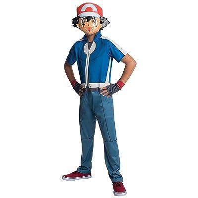 Rubie's Costume Pokemon Ash Child Costume, Small: Toys & Games