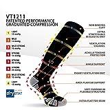 Vitalsox Silver Drystat Graduated Compression Socks