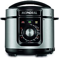 Panela de Pressão Elétrica Mondial, Pratic Cook 5L, 127V, Preto, 5L, 900W - PE-48-5L-I