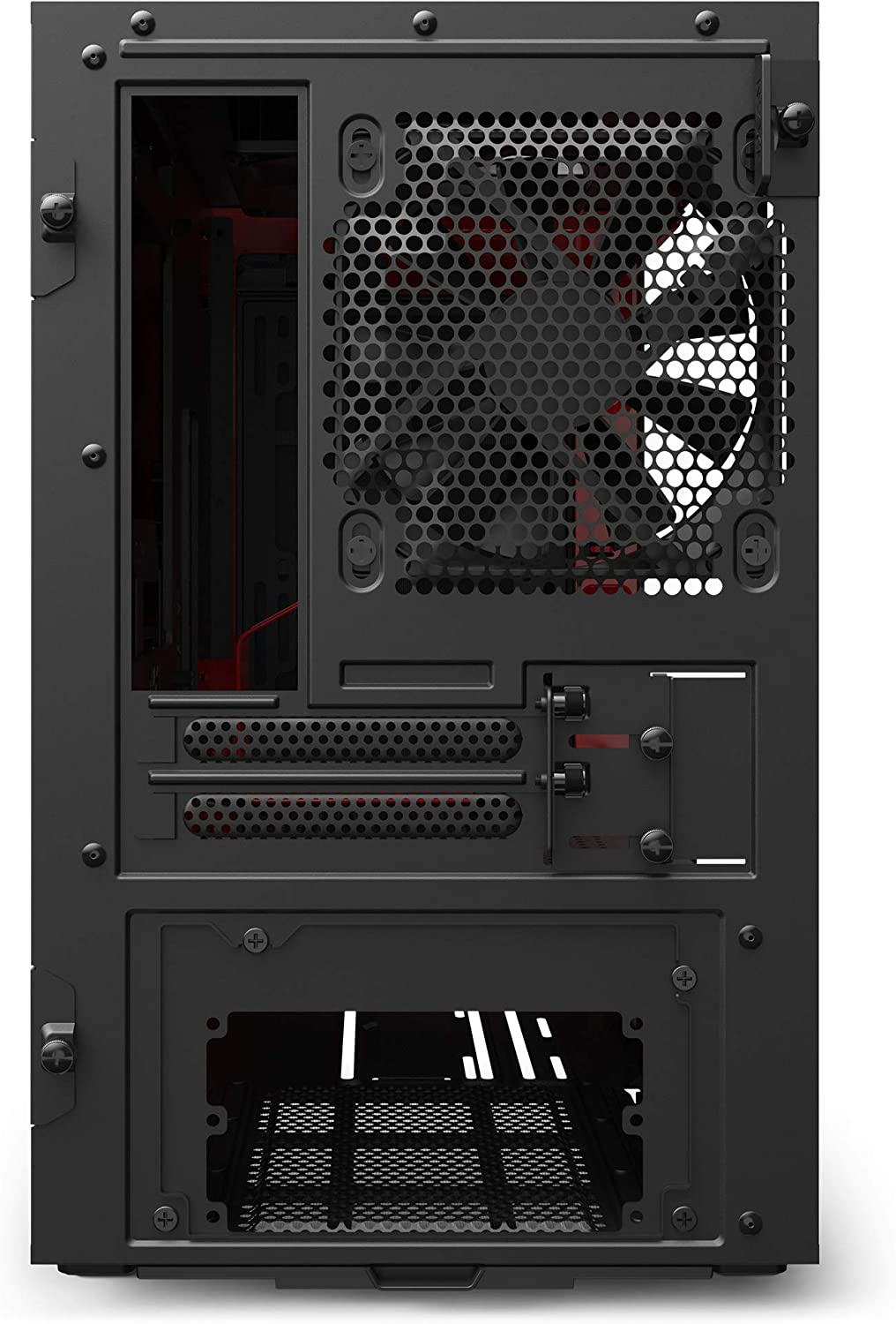 Water-Cooling Ready Front I//O USB Type-C Port Compact ATX Mid-Tower PC Gaming Case Tempered Glass Side Panel White//Black Steel Construction Cable Management System NZXT H510