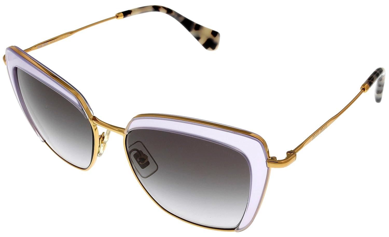 Amazon.com: Miu Miu – Gafas de sol Para Mujer Lila Oro ...