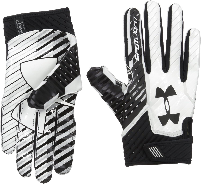 Under Armour Men/'s UA Spotlight NFL Football Receiver Gloves