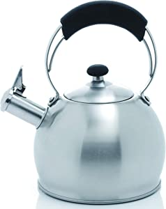 Creative Home Galaxy 2.6 Qt Stainless Steel Whistling Tea Kettle
