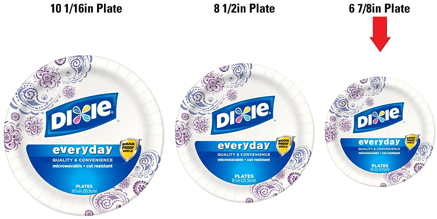 Amazon.com Dixie Heavy Duty Paper Plates 6.875 Inch 48 Count (Pack of 3) Health \u0026 Personal Care  sc 1 st  Amazon.com & Amazon.com: Dixie Heavy Duty Paper Plates 6.875 Inch 48 Count ...