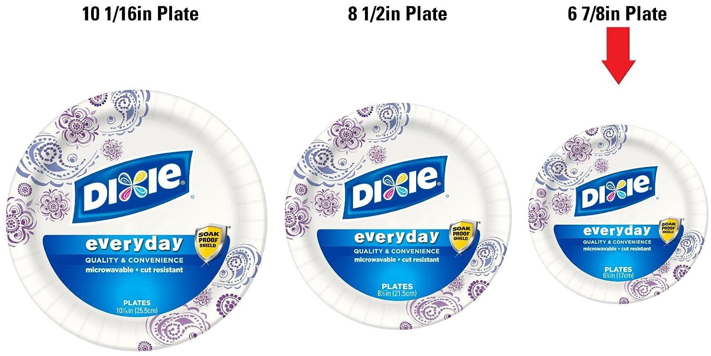 Amazon.com Dixie Heavy Duty Paper Plates 48 Count 6.875 Inch Health u0026 Personal Care  sc 1 st  Amazon.com & Amazon.com: Dixie Heavy Duty Paper Plates 48 Count 6.875 Inch ...