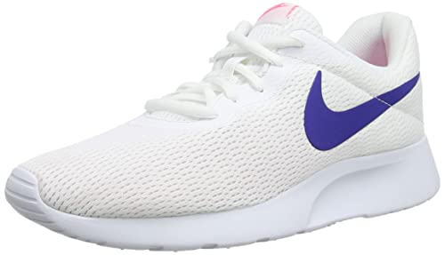 huge selection of 0d583 b4ddc Nike Women s Tanjun Low-Top Sneakers (White Concord-Laser Pink 103)