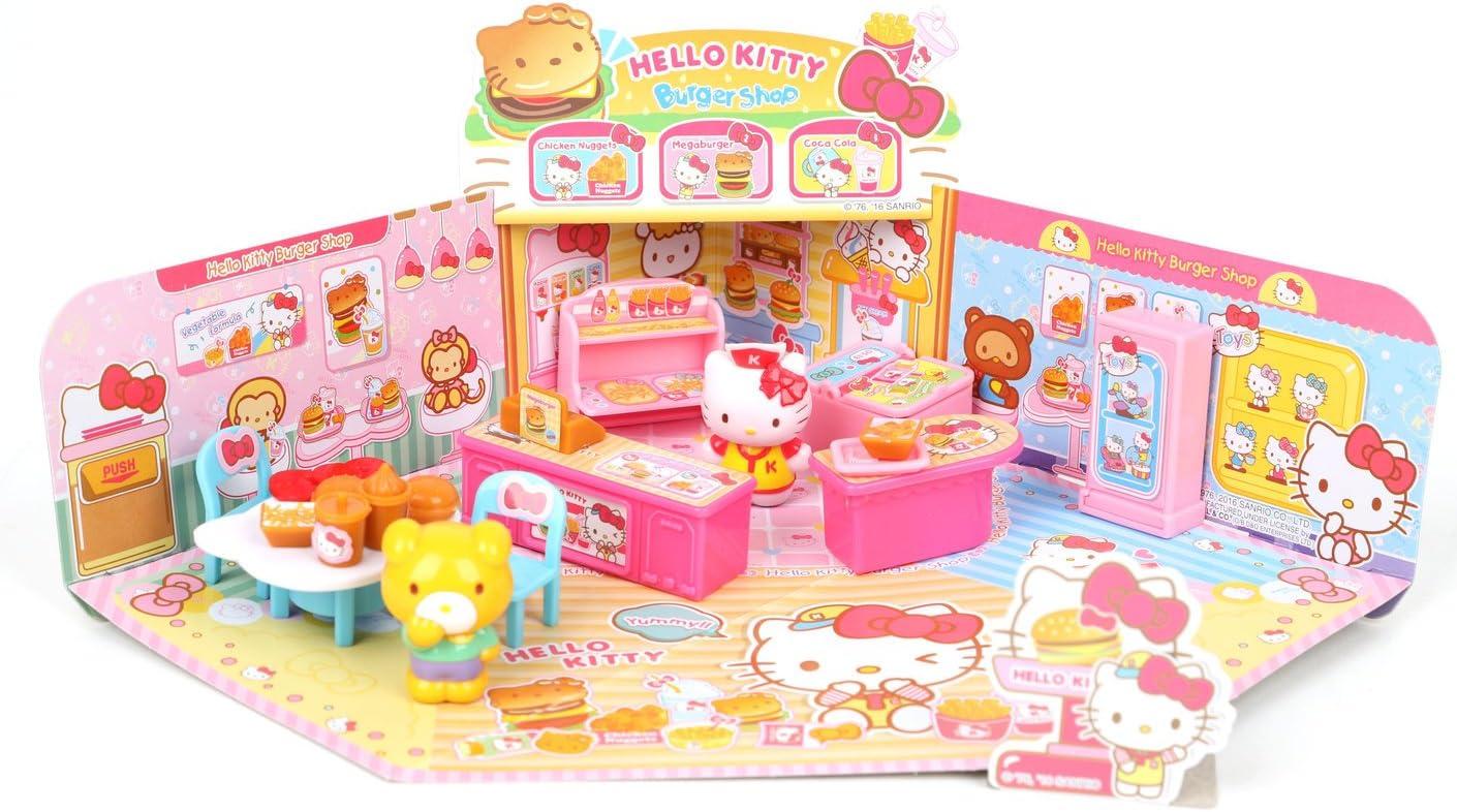 SANRIO Hello Kitty Burger Shop Playset