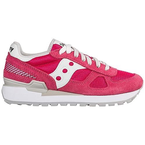 SAUCONY bajas zapatillas de deporte S1108-677 sombra original de las mujeres: Amazon.es: Zapatos y complementos