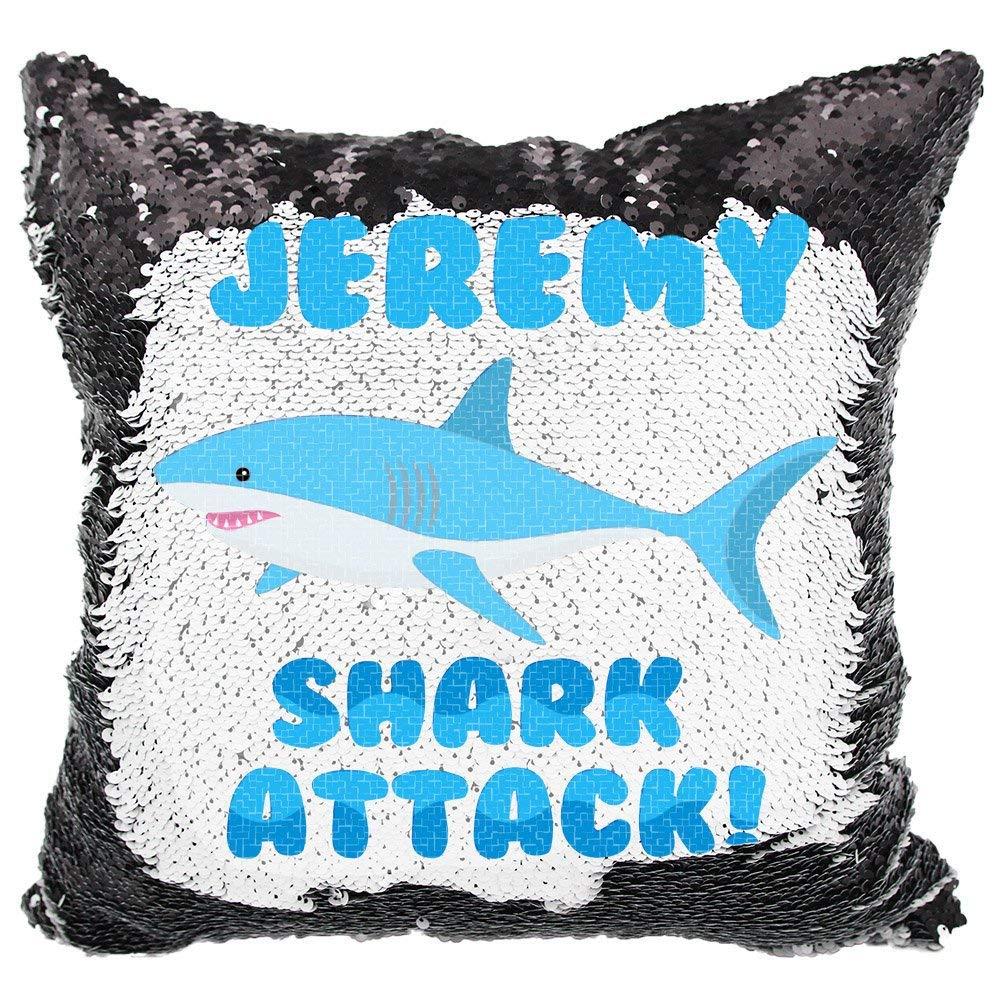 Queen54ferna Shark Attack Almohada para niños Personalizado ...