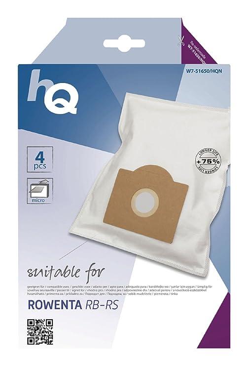 Amazon.com: HQ Bolsa Aspiradora Rowenta rb-rs [W7 – 51650 ...
