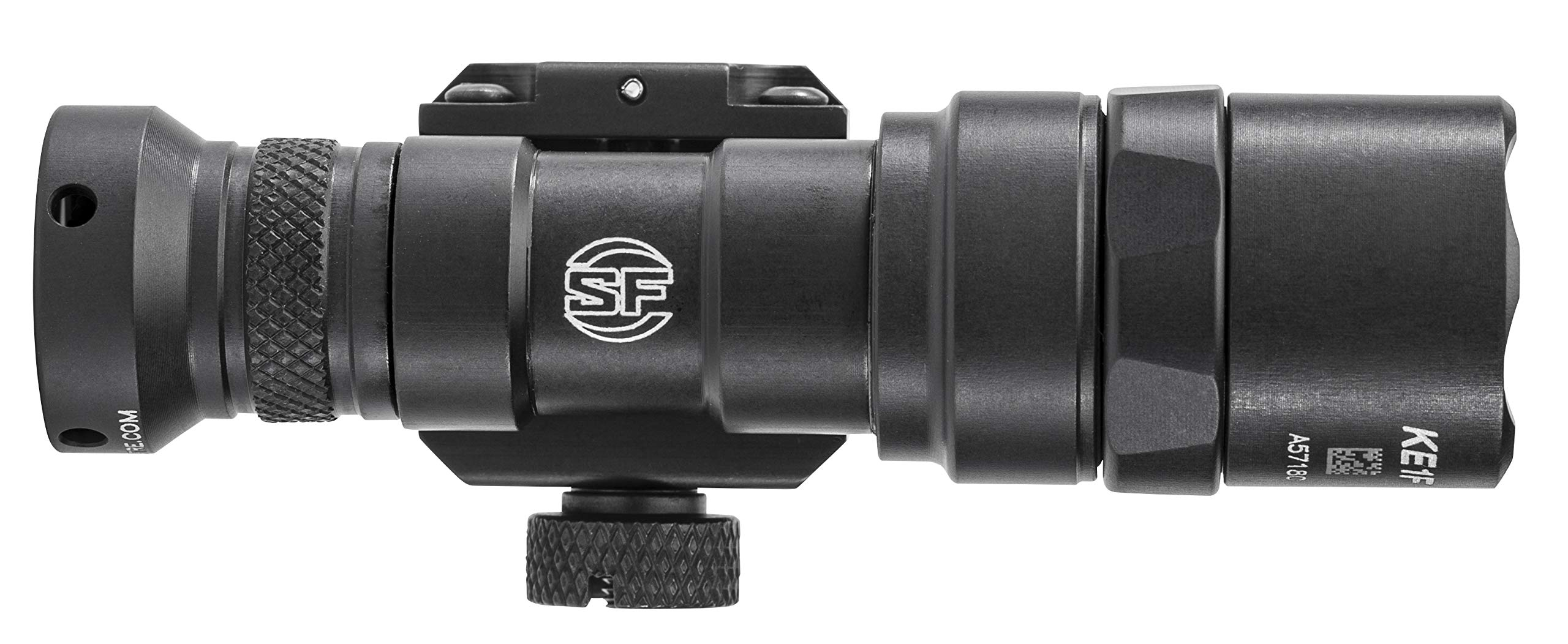 SureFire M300 Mini Scout M300 Mini Scout Light w/Z68 Click-Type tailcap pushbutton Switch, Black, Black by SureFire (Image #3)