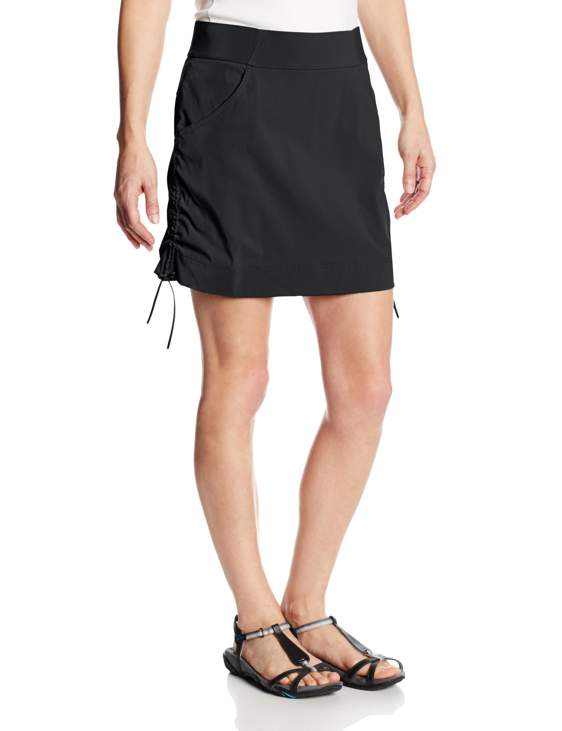 Columbia Women's Anytime Casual Skort, Black, X-Large