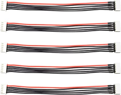 150mm Balance Plug Extension Lead Apex RC Products JST-XH 3S 6 5 Pack #1091