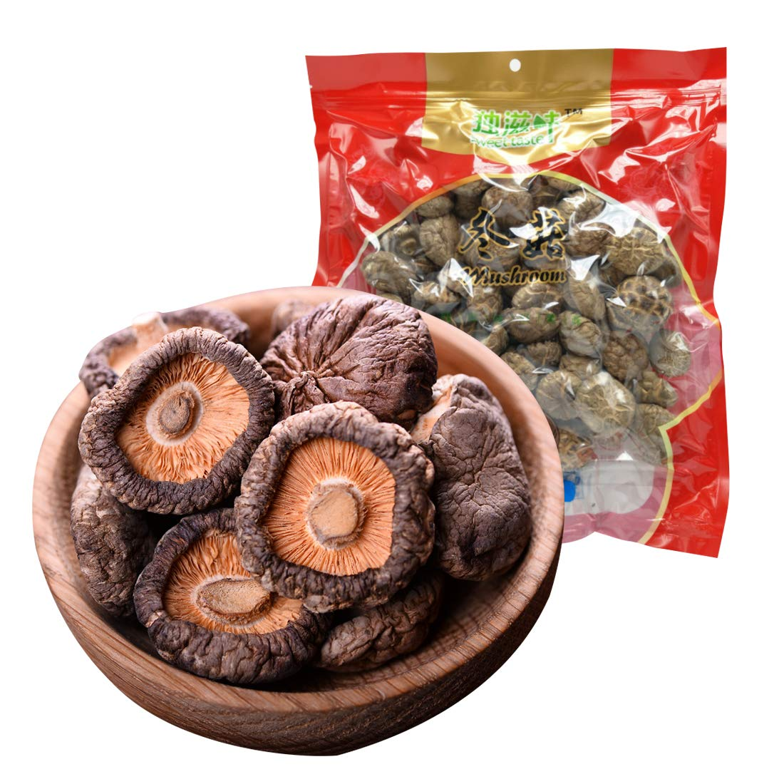 Dried Mushrooms Dried Shiitake 3—4CM Mushrooms Natural Food Non Gmo Food Mushroom 200g