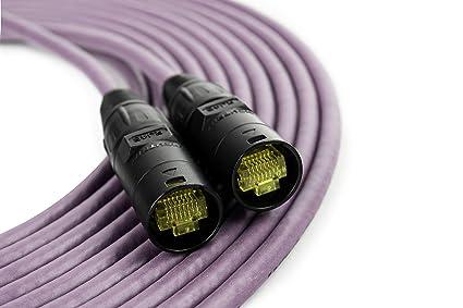 Amazon.com: SuperCAT - Cable blindado CAT5e etherCON: Home ...