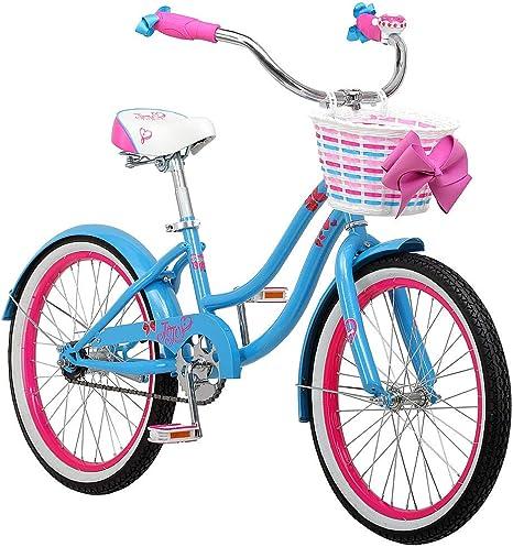 Nickelodeon Jojo Siwa Bicicleta de 20 Pulgadas para niña: Amazon.es: Deportes y aire libre