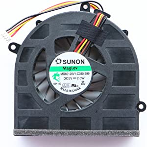 NBFAN Laptop CPU Cooler Fan for Lenovo G570 G570A G575 G575GX G470 G470A G470AH G475 G475A CPU Cooling Fan