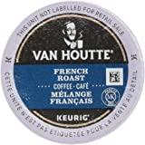Van Houtte French Roast Single Serve Keurig Certified K-Cup pods for Keurig brewers, 18 Count
